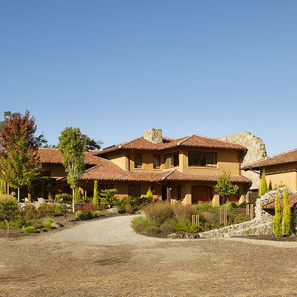 tuscan style custom home napa